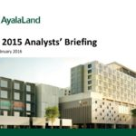 ALI Analysts Briefing FY 2015